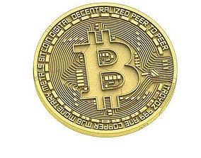 3D print model Coin -Bitcoin