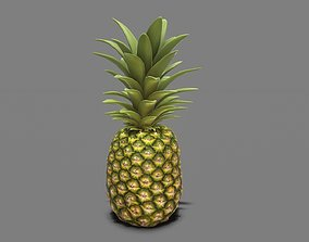3D asset Pineapple Real time