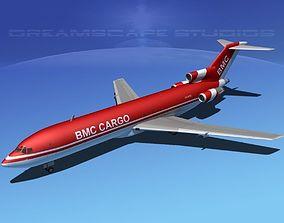 Boeing 727-200 BMC Cargo 3D