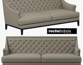 Roche Bobois EPOQ 3-Seat Sofa 3D model