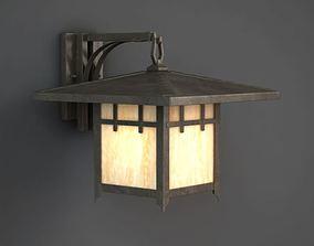 3D model House Shaped Lamp Shade
