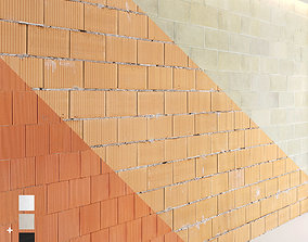 3D textures Block wall set 02