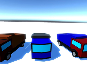Big Trucks 3D asset