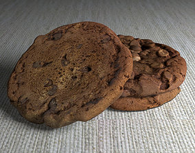 3D model Brownie Cookie