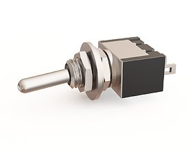 3D model Toggle switch 04