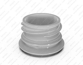 Neck for bottles - Obrist - 28 18 mm 3D model industrial