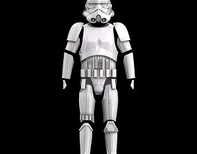 Star Wars Rogue One-Solo Stormtrooper 3D print model 2