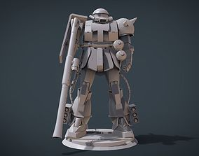 MS-06 ZAKU II 3D printable model