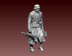 German soldier 3D printable model fascist