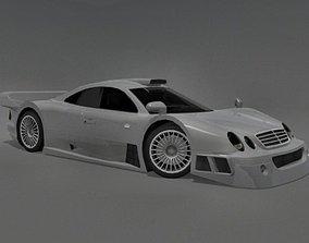 3D model Mercedes-Benz CLK-GTR