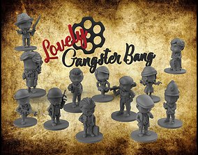 3D printable model Gangster Bang Lovely