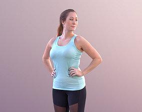 Rocio 10572 - Standing Sport Girl 3D asset
