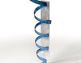 3D model Jon Allen - Blue Hurricane