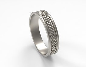 3D printable model Celtic Band Ring in USA Size
