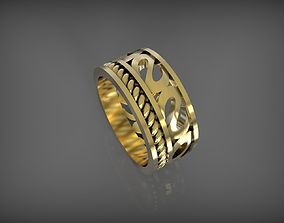 3D print model ring 18mm size