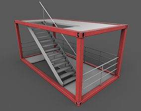 3D model Stairs Container
