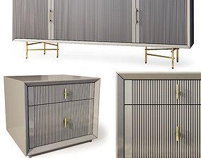 Nightstand sideboard Astoria by Enza Home 3D model