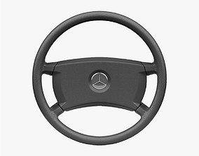 Mercedes-Benz 190 E Steering Wheel 3D asset