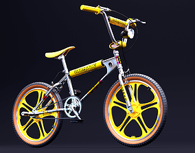 3D asset Mongoose BMX Stranger Things Mad-Max Edition