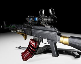 3D model MUTANT AK47