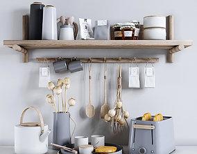 Emma by Stelton Decorative set for the kitchen 6 3D model