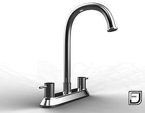 cromo 3D model Kitchen Faucet