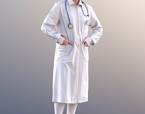 3D model Nelly 10743 - Standing Doctor