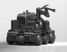 3D printable model OCRV sci fi repair vehicle