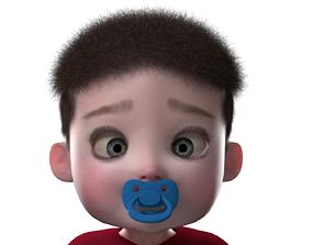 Baby Boy Character 3D model
