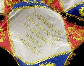 SOLDIER Napoleon Battalion Flag 3D