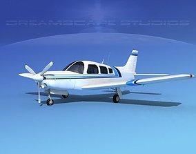 Piper Turbo Arrow 240 V02 3D