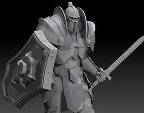Knight Warcraft 3D print model