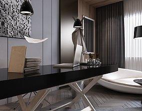 Modern and Minimalist Office Design 3D