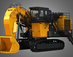 bulldozer 3D EX8000-6 - Hydraulic Mining Shovel