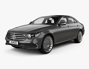 3D Mercedes-Benz E-class Exclusive line sedan 2020