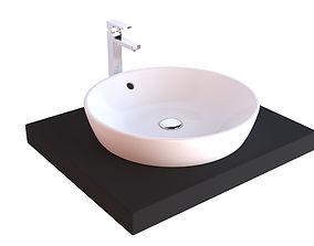 bathroom washroom Bathroom Sink 3D