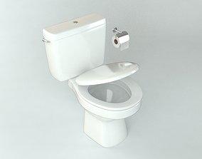 3D asset realtime Toilet