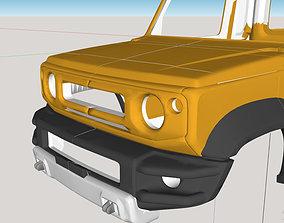 Suzuki Jimny mk4 jb74 Sierra Pickup 2019 3D print model