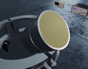 3D model NCG50-D63 Air-Coupled Ultrasonic Transducer