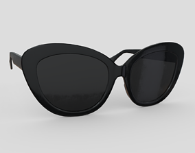 Sunglasses 5 3D model game-ready