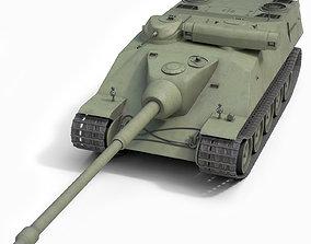 3D model AMX AC mle 48 Tank military