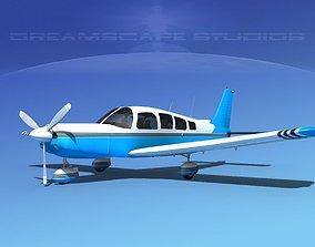 3D Piper Cherokee Six 260 V12