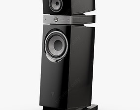 Focal JMLab Scala Utopia Black Lacquer 3D model