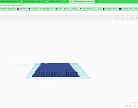 Alexa Plate 3D print model