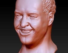 male head 3D print model