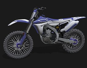 Yamaha YZ 450 F 3D model
