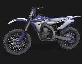 Yamaha YZ 450 F 3D model
