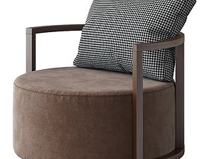 B and T design CAV armchair 3D