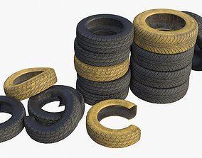 Car Tires Assets game-ready
