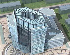 Office Building 3D city